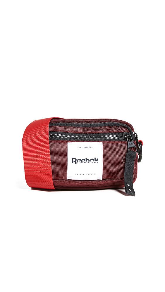 Reebok x Victoria Beckham RBK VB Mini Convertible Belt Bag in burgundy