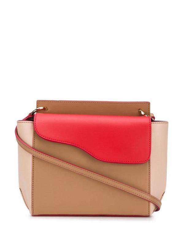 ATP Atelier Aulla colour block shoulder bag in red