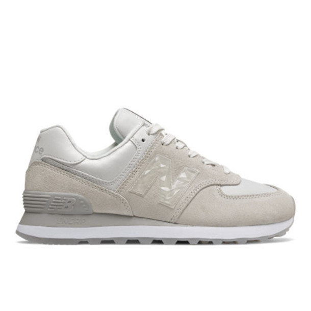 New Balance 574 Mystic Crystal Women's 574 Shoes - Grey (WL574WNT)
