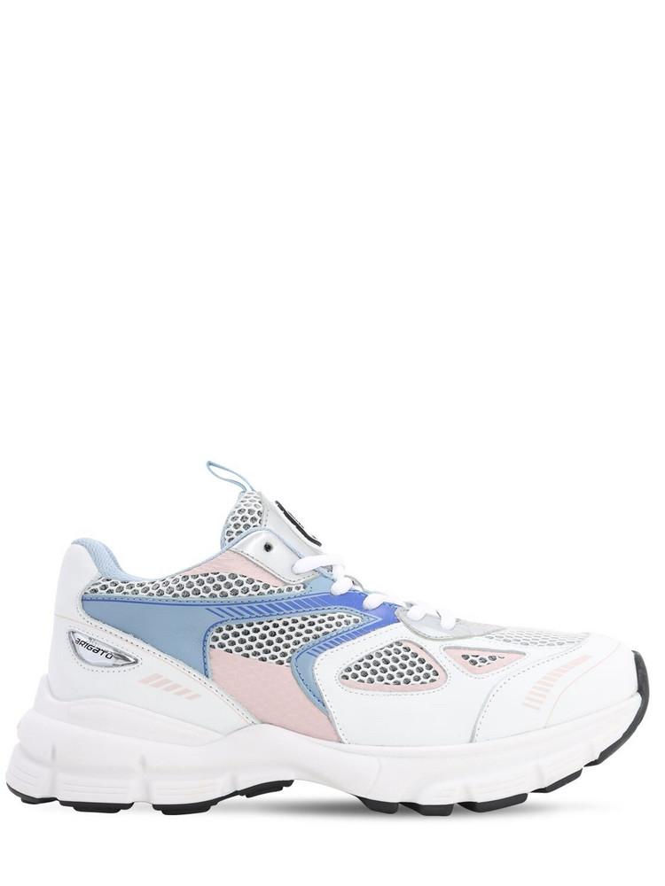 AXEL ARIGATO 30mm Marathon Leather & Mesh Sneakers in white / multi