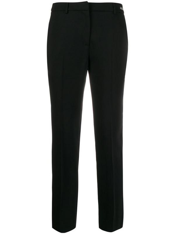 John Richmond Sakky tapered leg trousers in black