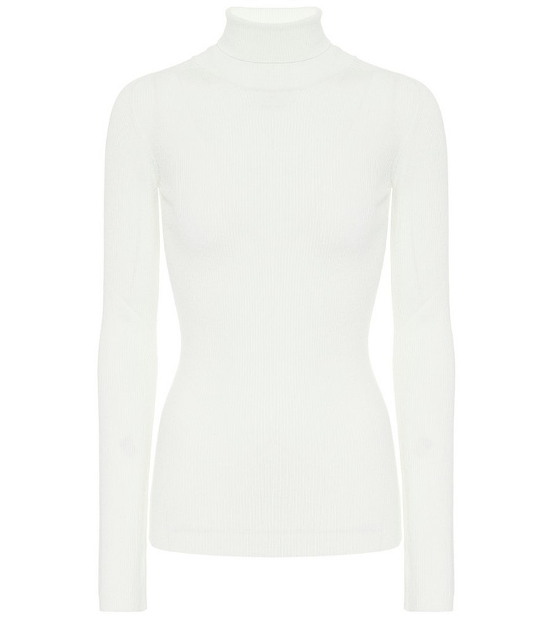 WARDROBE.NYC Release 05 wool turtleneck sweater in white