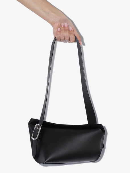 Venczel Black Aera-S leather shoulder bag