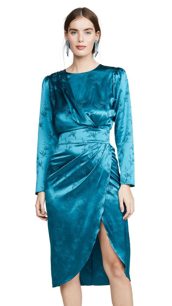 Ronny Kobo Jade Dress in teal
