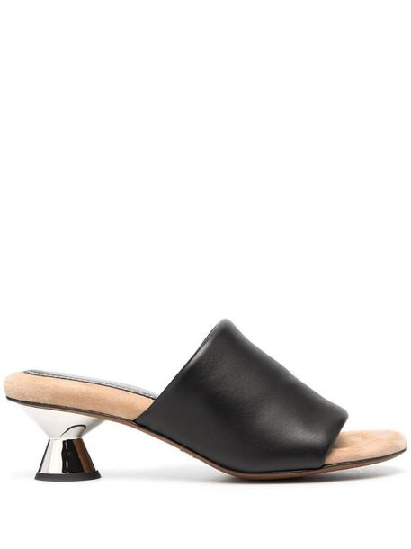 Proenza Schouler Vase 50mm padded sandals in black