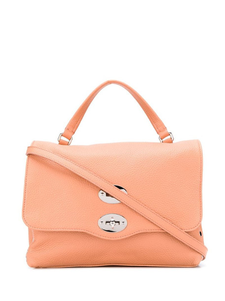 Zanellato twist-lock tote bag in pink