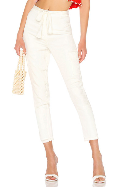 Lovers + Friends Clarissa Pants in white