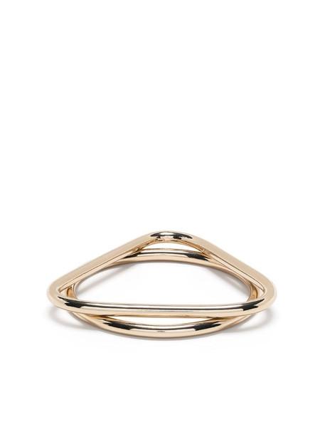 Gentry Portofino double bangle in gold