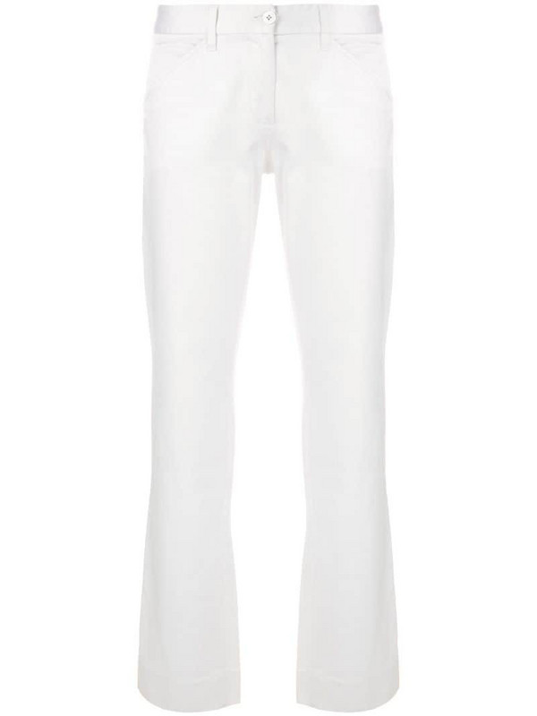 Dolce & Gabbana Pre-Owned classic straight trousers in white