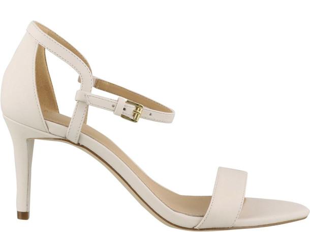 Michael Kors Simone Mid Sandals in beige