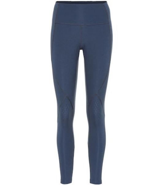 Lndr Ultra Form cropped leggings in blue