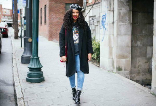 babyshopaholic blogger coat t-shirt jeans shoes jewels