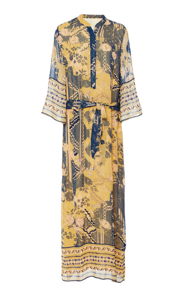 Chufy Lima Chiffon Dress Size: XS in print