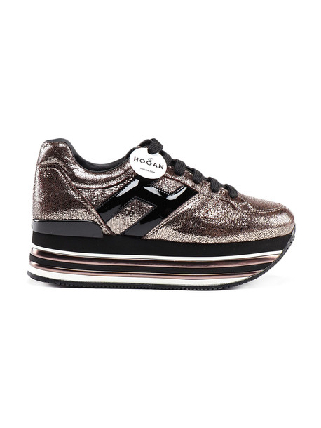 Hogan H473 Maxi Sneaker in nero