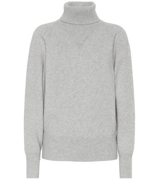 Joseph Wool-blend turtleneck sweater in grey