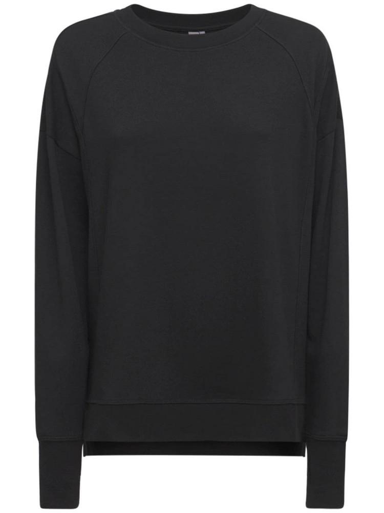 SWEATY BETTY After Class Sweatshirt in black