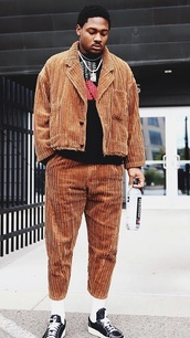 jacket,stefon diggs,celebrity,football,brown