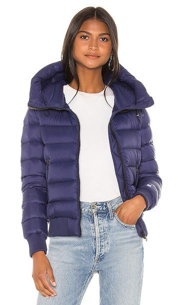 Soia & Kyo Tiphanie Puffer Jacket in Blue