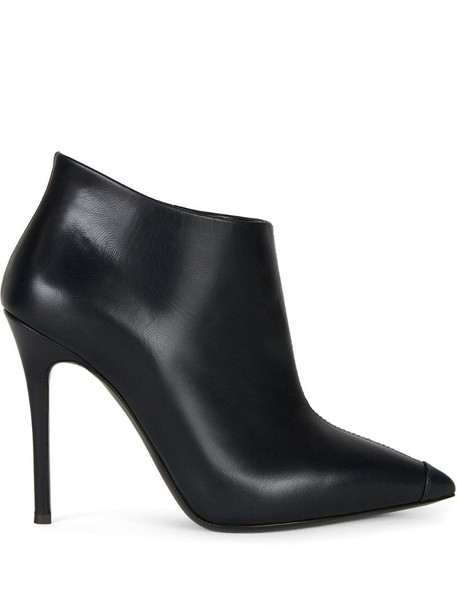 Giuseppe Zanotti pointed leather ankle boots in blue