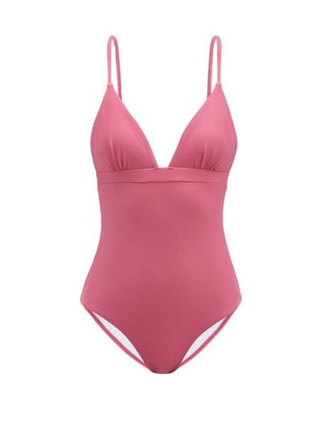 Casa Raki - Maggie Swimsuit - Womens - Dark Pink