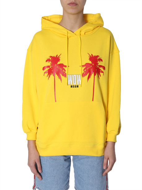 MSGM Hooded Sweatshirt