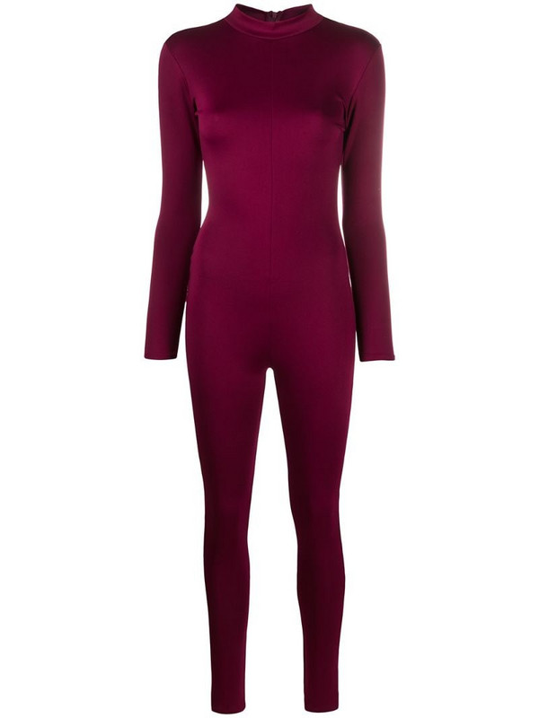 Alchemy bodycon fit jumpsuit in red