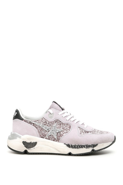 Golden Goose Running Sole Sneakers in pink / lilac