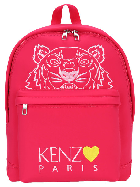 Kenzo Large Tiger Backpack capsule Back From Holidays in fuchsia