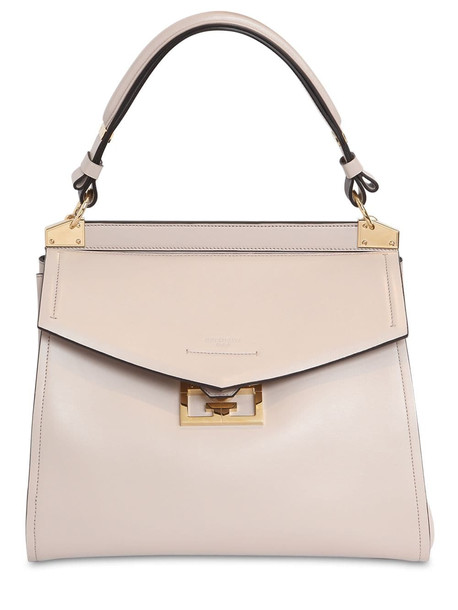 GIVENCHY Medium Mystic Smooth Leather Bag in natural