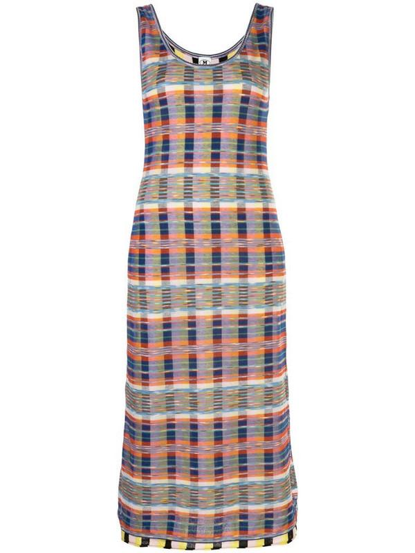 M Missoni check print dress