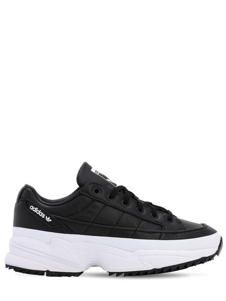 ADIDAS ORIGINALS Kiellor Leather Sneakers in black