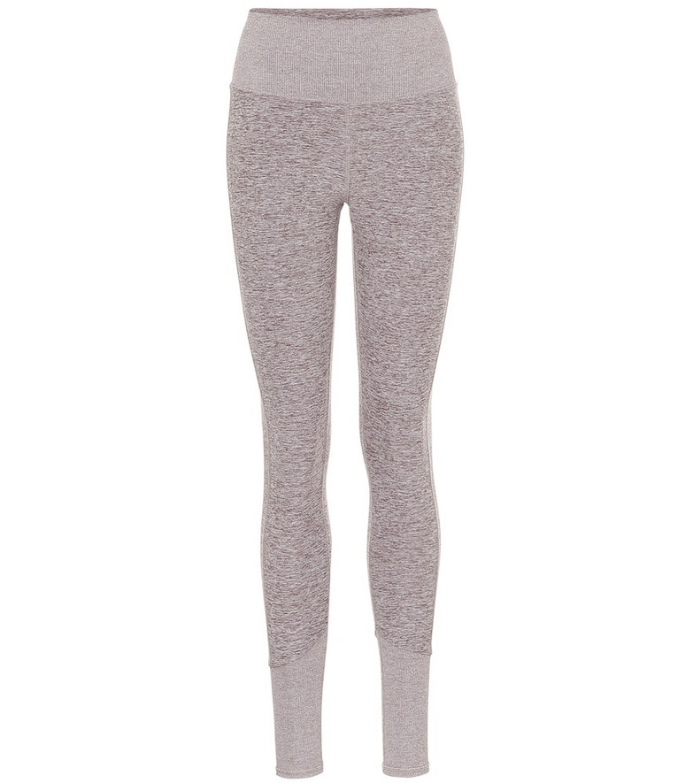 Alo Yoga Airlift high-rise leggings in grey