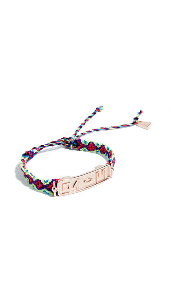 Lucy Folk Le Memphis Bracelet in gold / rose
