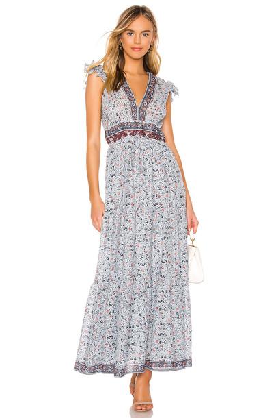 SAYLOR Brisa Dress in blue
