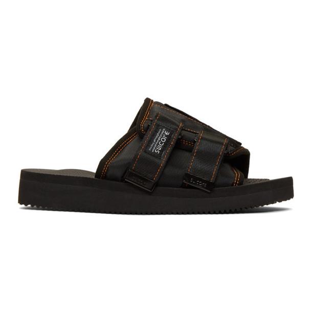 Palm Angels Black Suicoke Edition KAW-PA-A Sandals