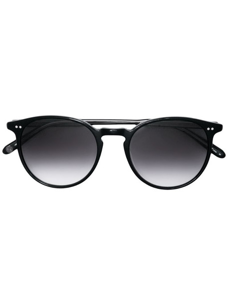 Garrett Leight morningside sunglasses in black