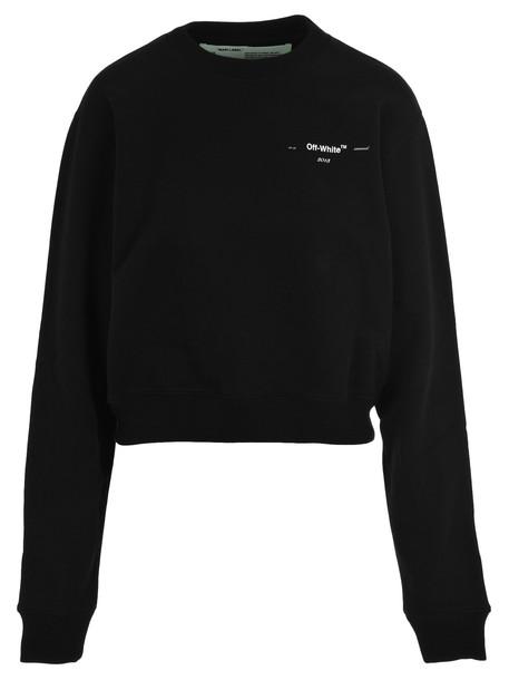 Off White Off-white Logo Print Sweatshirt