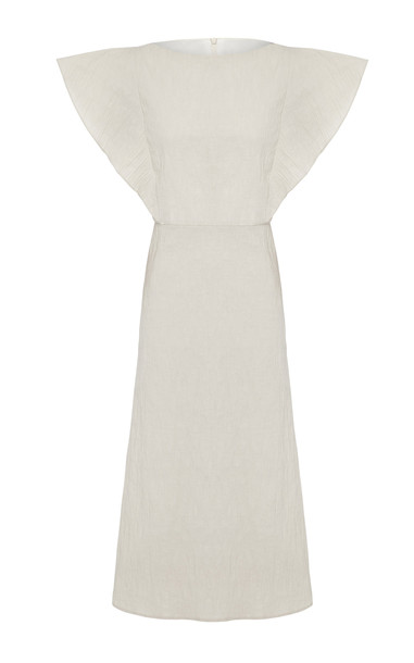 Anna Quan Zara Cotton Dress Size: 6 in neutral