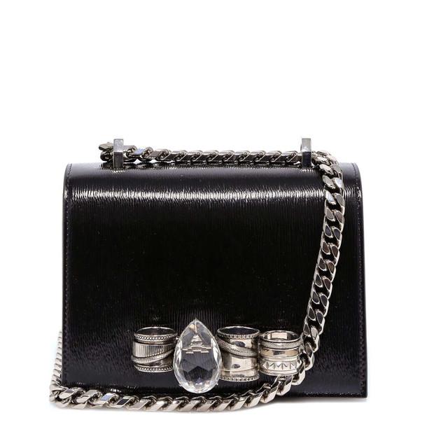 Alexander McQueen Shoulder Bag in black
