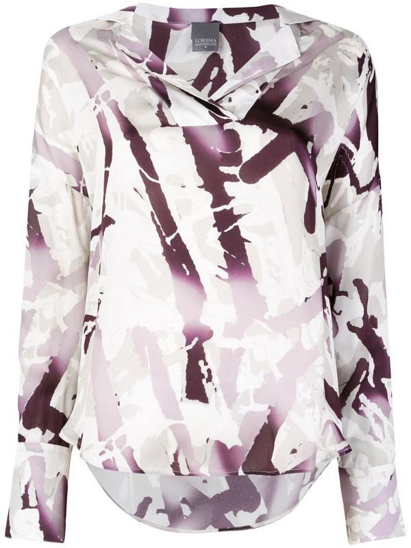 Lorena Antoniazzi printed shirt in white