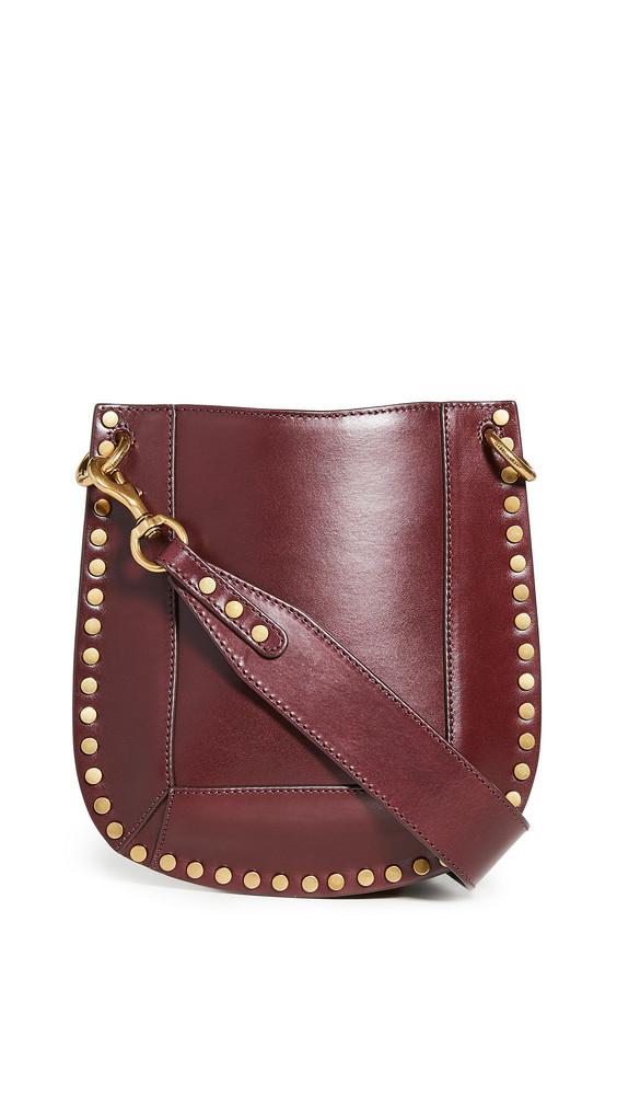 Isabel Marant Nasko New Crossbody Bag in burgundy