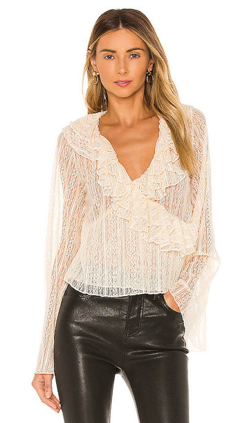 House of Harlow 1960 x REVOLVE Florian Top in Cream
