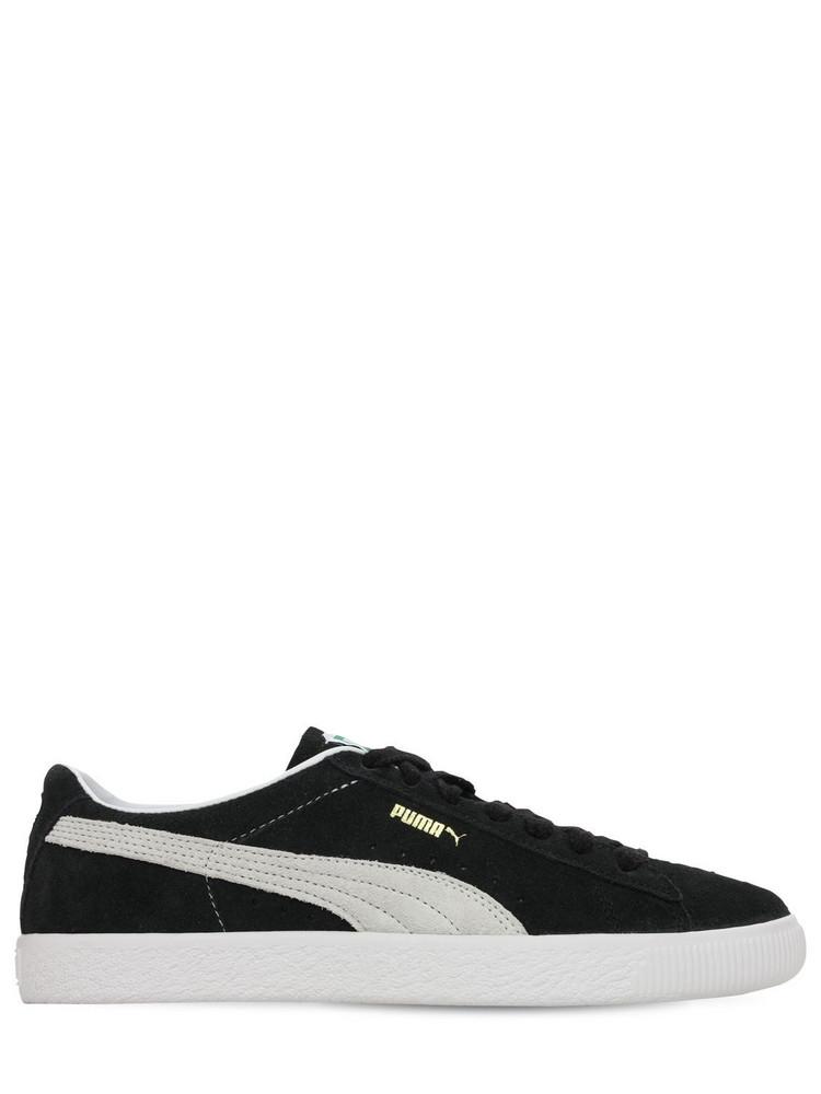 PUMA Suede Vtg Sneakers in black