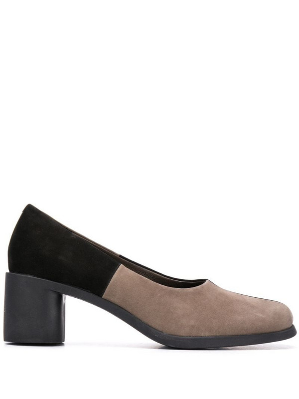 Camper TWS 60mm two-tone pumps in grey