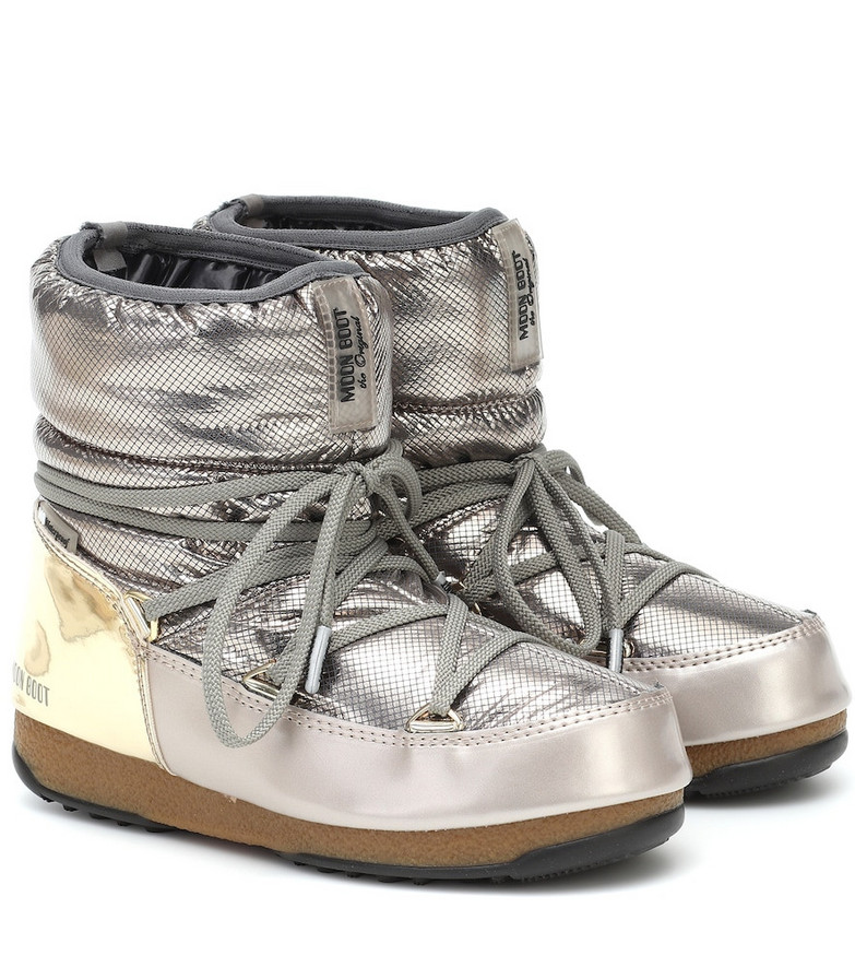 Moon Boot Low St. Moritz WP snow boots in grey