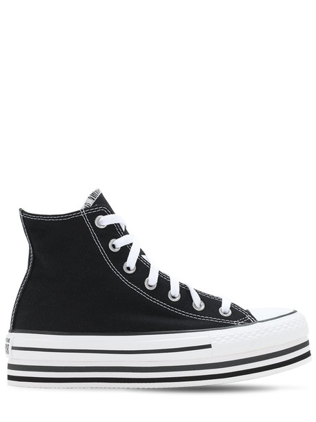 CONVERSE Chuck 70 Eva Layer Canvas Sneakers in black