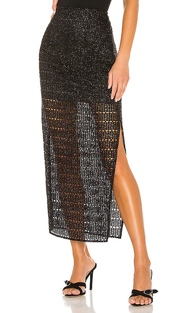 House of Harlow 1960 x REVOLVE Meera Midi Skirt in Black