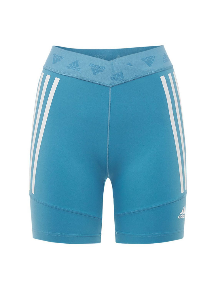 ADIDAS PERFORMANCE Cycling Shorts in blue / white