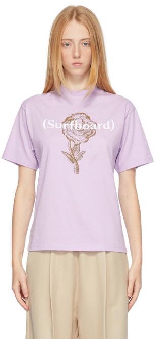 Stockholm (Surfboard) Club Stockholm (Surfboard) Club Purple Kil Western T-Shirt