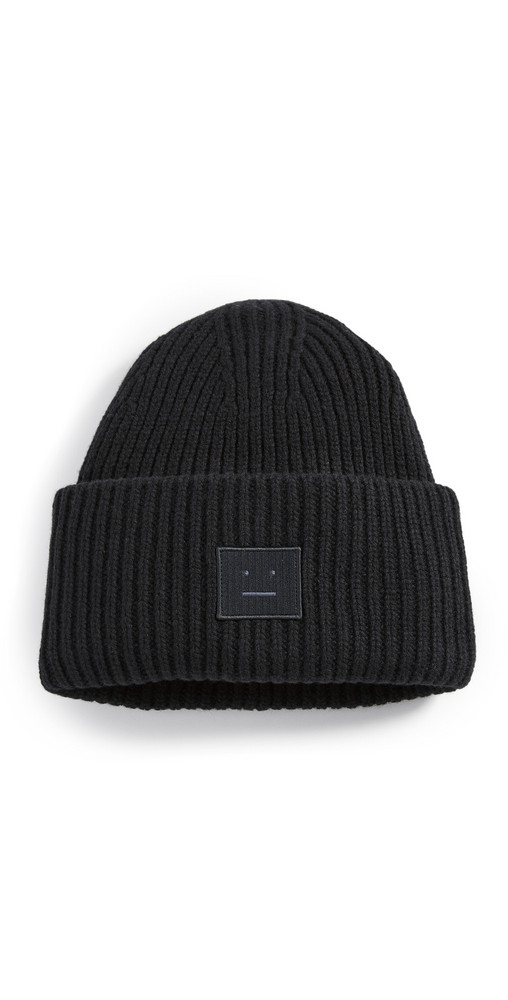 Acne Studios Pansy N Face Hat in black